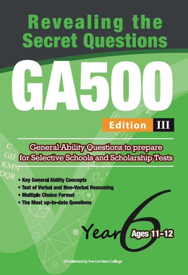 GA500 V3