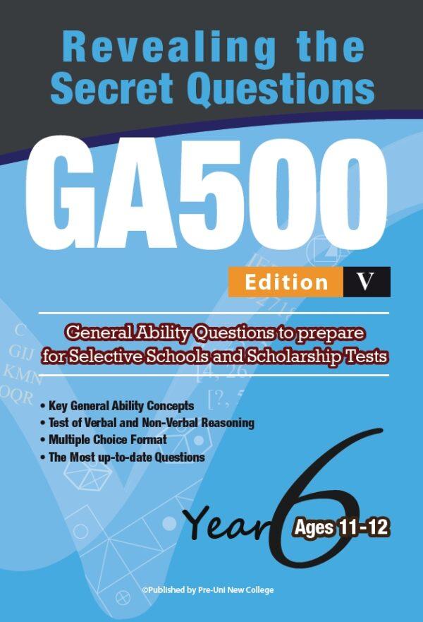 GA500 V5