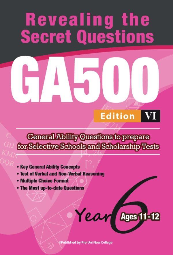 GA500 V6